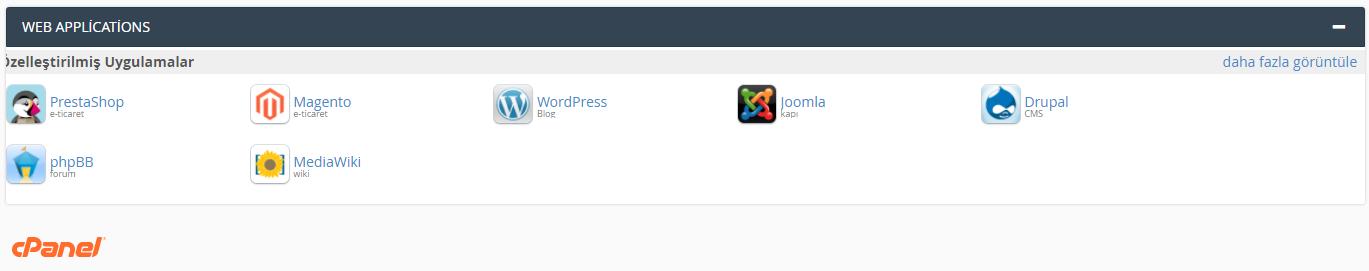Web app wordpress